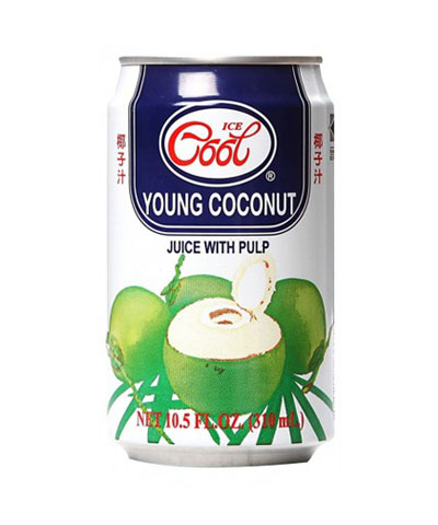 Ice Cool Young Coconut Withpulp 310ml